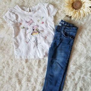 Gap Girls Shirt 3T Outfit
